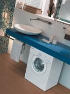 Zanim zabierzemy się za ustawianie pralki, a nawet zanim wybudujemy naszą wymarzoną łazienkę, dobrze jest przemyśleć każde rozwiązanie. fot. Candy