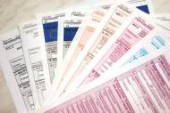 VAT-22, VAT-23, VAT-24, VAT-25 2012/2013; formularze VAT, druki VAT